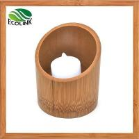 Cheap Bamboo Candle Holder Tealight Holder for sale