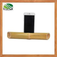 Cheap Portable Bamboo Mobile Phone Speaker For IPhone for sale