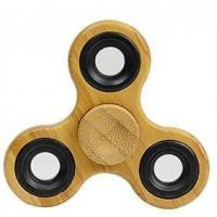 Cheap Bamboo Wood Fidget Spinner Tri Hand Spinner for sale