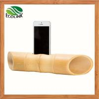 Cheap Bamboo Portable Mobile Phone Speaker For Samsung Or IPhone for sale