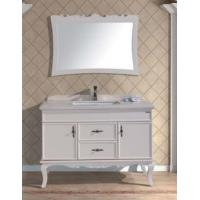 Cheap Antique White Classic Bathroom Sink Vanity Cabinet Model(YL-S98003) for sale