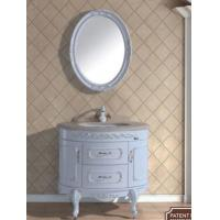 Cheap Antique White Classic Bathroom Sink Vanity Cabinet Model(YL-S2007F) for sale