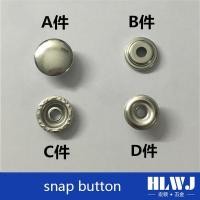 China Luggage assessories serious snap button on sale