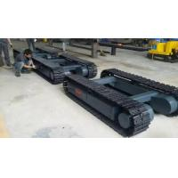 Loading capacity 4T steel chassis undercarriage track