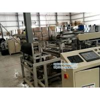 China Black Fleece Gluing Robot Machine for Perforated metal ceiling Tile on sale
