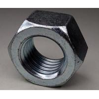 7/16-20 Finished Hex Nut Steel, Zinc-Clear Plated