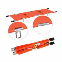China CR-F19 Aluminum Folding Stretcher for First-Aid on sale