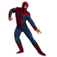 China Disguise Men's Marvel The Amazing Spider-Man Movie 2 Spider-Man Classic Costume-Men on sale