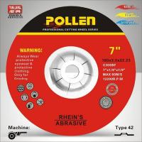 Cheap 7Inx1/8In Depressed Center Abrasive Wheels, C30S Silicon Carborundum Cutting and Grinding Wheel for sale