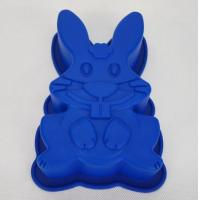 Food Grade Silicone Rabbit Shape Cake Silicone Mold
