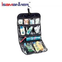 Buy cheap School Bags PVC cosmetics jewelry clear folding toiletry travel bag cosmetic from wholesalers