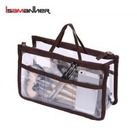 Buy cheap School Bags Easy carry travel plastic pvc clear toiletry bag with multi-compartments from wholesalers