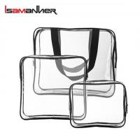 Buy cheap School Bags 3 pcs clear pvc travel cubes from wholesalers