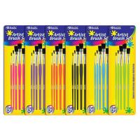 Buy cheap Arts & Crafts BAZIC Asst. Size Paint Brush Set (5/Pack) $ 2.59 from wholesalers