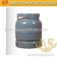 China 3kg Cylinder Nigeria Household Usage LPG Gas Cylinder Price Good on sale