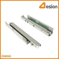 China Peg locking under mount drawer slides DSB06S Under mounting concealed slides on sale