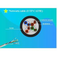 Network cable UTP(Unshielded Twisted Pair) CAT5e solid Copper