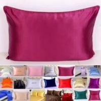 Cheap 2pc 16 Momme 100% Silk Pillow Case Side Envelope Style for sale