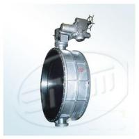 Butterfly valve series Hand wheel straight Dust and gas valve