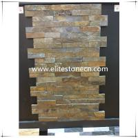 Cheap ES-S01 Rusty slate stacked culture stone veneer for sale