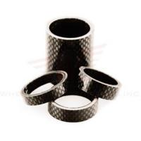 Cheap Wheels Manufacturing 1-1/8-inch Carbon Spacer (bag Of 5), 2.5mm for sale