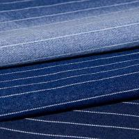 Cheap Stripe stretch denim fabric for sale