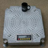 Buy cheap Weight Systems Inc. 6,000 lb Base Aircraft Wheel Scale from wholesalers