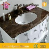 China Vanity Top Cultured Marble Bathroom Countertops and Vanity Tops with Sink on sale