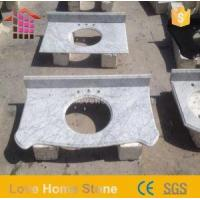 China Vanity Top White Marble and Cultured Marble Vanity Tops with Sink Online Sale on sale