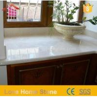 China Engineered Imperial Solid Surface Bathroom White Cultured Marble Vanity Tops Made in China on sale