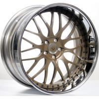 Cheap Bronze 3 Piece Forged Wheel Rims for sale