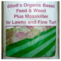Cheap Fertilisers Organic Based Lawn Feed and Weed plus Mosskiller - 20KG for sale