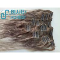 Cheap Double Drawn Clip In Brazilian Hair Extension Large Stocks Any Color Size 8-30inch Customization Ava for sale