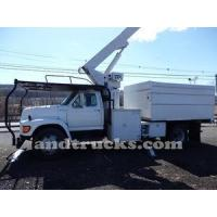 Cheap Used 1998 Ford F Series Forestry Bucket Truck for Sale for sale