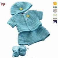 Cheap 100% Cotton Free Crochet Sweater Baby Pattern for sale