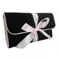 Cheap Quality velvet cosmetic bag for sale