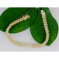 Buy cheap Micro wax setting high gold-plated bracelet from wholesalers