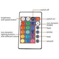 Cheap Mini WiFi RGB LED Strip Controller For Phone Smartphone Tablet + 24 Keys Remote Controller for sale