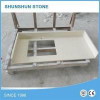 Cheap Wholesales Artificial Quartz Bathroom Vanity Tops with Sink for sale