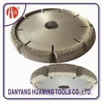Cheap HM35 Vacuum Brazed Diamond Dry Cutting Saw Blade For Sandstone for sale