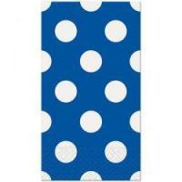 China Blue Polka Dot Guest Towels (192) on sale