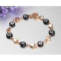 Cheap Mens stainless steel bracelets with 24K gold plating for sale