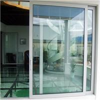 Buy cheap Aluminum sliding door with electric remote control blind inside double glass from wholesalers