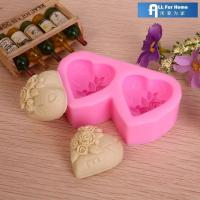 Cheap Soap Mold Allforhome flower Silicone Candle Mold Handmade Decorating Tool for sale