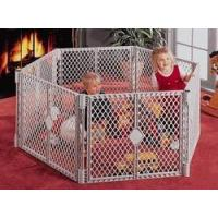 China Deluxe Superyard XT Portable Round Child Safety Gate by North States on sale