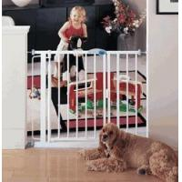 China Auto-Close Metal Child Safety Gate Expands 29.5-38 & Up to 68 w/Extensions by North States on sale