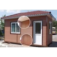 China CR-2102 WPC Composite Weatherboard Cladding on sale