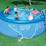 China Intex Above Ground Pools For Backyard | Pools For Home on sale