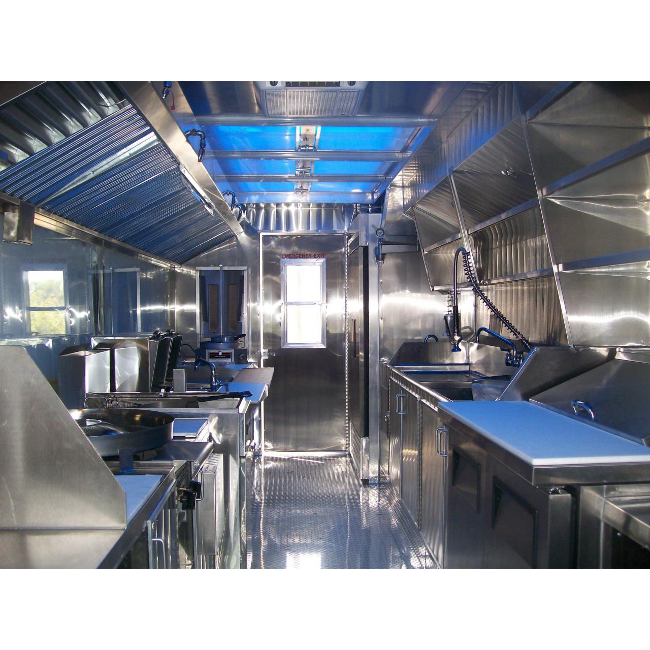 Cheap Kitchen and Trailer in One for sale
