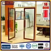 China Customized Commercial Aluminium Spring Door for Hotel and Office on sale